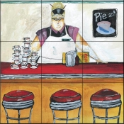 JG-Blueberry Pie - Tile Mural