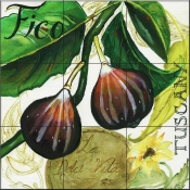 Under The Tuscan Sun-Figs-JG - Tile Mural