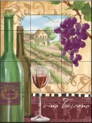 Wine Country I-FSG - Tile Mural