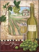 Wine Country II-FSG - Tile Mural