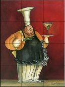 A Martini for You-JG - Tile Mural