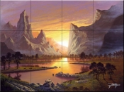 Break of Dawn-JR - Tile Mural
