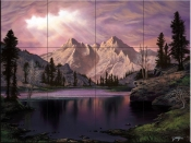 Transcendent Beauty-JR - Tile Mural