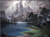 Tranquil Moment-JR - Tile Mural