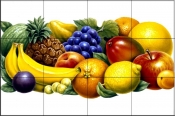 Fruits 2    - Tile Mural