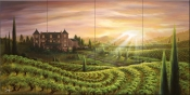 Vineyard Vista-JR - Tile Mural