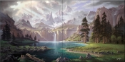 Symphony of the Sierras-JR - Tile Mural
