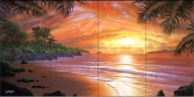Tropical Passion-JR - Tile Mural