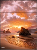 The Wisdom of Solitude-JR - Tile Mural