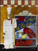 Catch of the Day-JG - Tile Mural