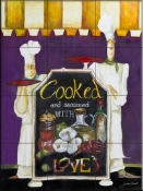 Cooked With Love-JG - Tile Mural