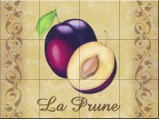 LC-The Plums - Tile Mural