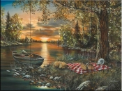 Lakeside Rendezvous-JH - Tile Mural