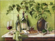 MT-Afternoon Repast - Tile Mural