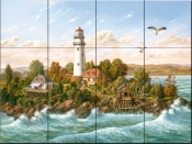 Midsummer Breeze-KS - Tile Mural