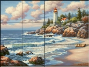 Kims Lighthouse-SK - Tile Mural