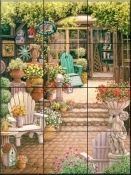 Miss Trawicks Garden Shop-JK - Tile Mural