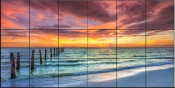 A Ft. Myers Sunset - SA - Tile Mural