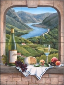 Rhine Wine Moment - BF - Tile Mural