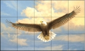 Bald Eagle  2  - Tile Mural