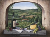 Port Wine - BF - Tile Mural