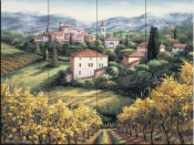A Vineyard View - BF - Tile Mural