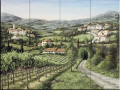 Tuscany Dreams - BF - Tile Mural