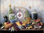 Olives in the Jar - BF - Tile Mural