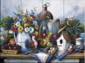 Gardening Table - BF - Tile Mural