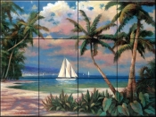 Sailing to Serenity - TC - Tile Mural