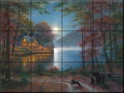 Lakeside Dreams - MK - Tile Mural