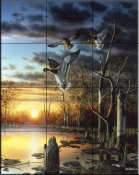 Evening Splendor  1  - Tile Mural