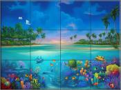 Below Paradise - DM - Tile Mural