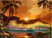Dawn of Diamond - CRL - Tile Mural