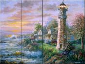 Lighthouse Haven 2 - NB - Tile Mural