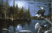 Reflections-Eagle - Tile Mural
