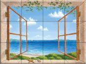 Beach Dreaming - DFA - Tile Mural