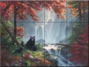 Roaring Fork Retreat - MK - Tile Mural