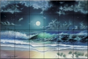 Enchanted Waters    - Tile Mural