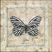 A Little Zebra    - Tile Mural