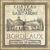 RH-Chateau Grand Saint   - Tile Mural