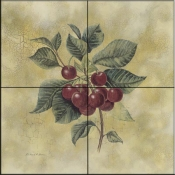 RH-Cherries   - Tile Mural