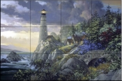 Coastline Watch    - Tile Mural