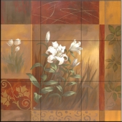 Showcase Callas I    - Tile Mural