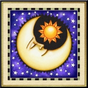 Celestial Moon I - Accent Tile