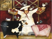 Barn Dance    - Tile Mural