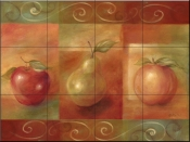 Fruit Swirl    - Tile Mural