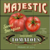 LS-Majestic Tomatoes    - Tile Mural