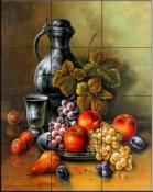 Antique Still Life II    - Tile Mural