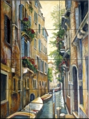 Venice  Afternoon    - Tile Mural